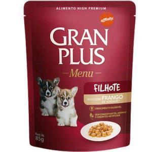 Ração Guabi Gran Plus Sachê Menu Frango Para Cães Filhotes - 85 G por R$ 2