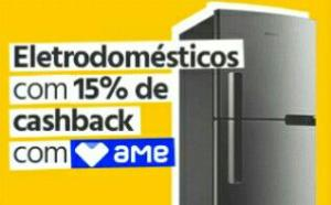 [AME] Seleção de eletrodomésticos com 15% de cashback