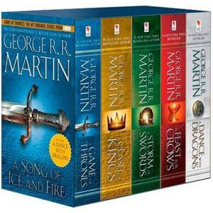 Box Game Of Thrones - 5 livros - Edição Pocket em Inglês