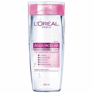 Água Micelar L'oréal 5 em 1 - 200 ml - R$20