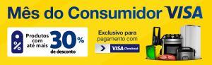30% de desconto com Visa Checkout