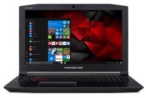 "Notebook Gamer Acer Predator Helios 300 G3-572-75L9 Intel® Core i7™ 16GB 2TB HD NVIDIA® GeForce® GTX 1060 com 6GB Windows 10 15,6"""