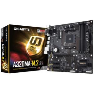 Placa-Mãe GIGABYTE p/ AMD AM4 mATX GA-A320MA-M.2 DDR4