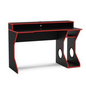 Mesa Gamer Fremont Preta e Vermelha - R$ 288