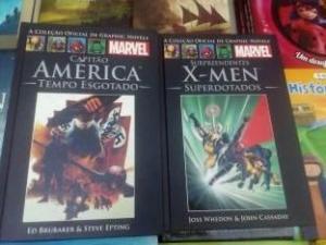 [Loja Física] Capitão América tempo esgotado - X Men superdotados