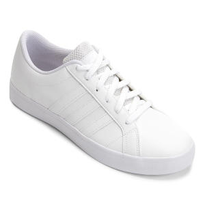 Tênis Adidas VS Pace Masculino - Branco e Preto | R$116