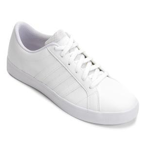 8f7c4ac016 Tênis Adidas VS Pace Masculino - Branco e Preto | R$116 | Pelando
