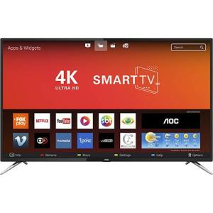 Smart TV 50'' AOC Le50u7970s Ultra HD 4k Uhd Conversor Digital 4 HDMI 2 USB Wi-Fi 60hz | R$1.890 (R$1.796 com AME)