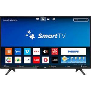 """Smart TV LED 32"""" Philips 32PHG5813/78 HD com Conversor Digital 2 HDMI 2 USB Wi-fi 60hz - Preta por R$ 855"""