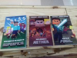 [Loja Física - São Paulo/SP] Coleção Livro Minecraft Diário Perdido R$10