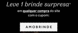 O BOTICÁRIO- LEVE UM BRINDE SURPRESA EM QUALQUER COMPRA NO SITE + FRETE GRÁTIS ACIMA DE R$124,90