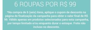 TRICAE - LEVE 6 ROUPAS INFANTIL POR R$99,00!!