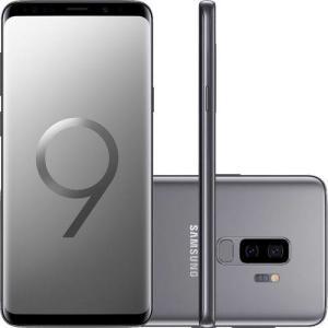 [Cartão Americanas] Smartphone Samsung Galaxy S9+ - Cinza   R$2699