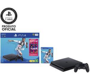 [Cartão Sub] Console PlayStation 4 1TB Bundle + Game Fifa 19 - Sony - R$ 1614,99  À Vista