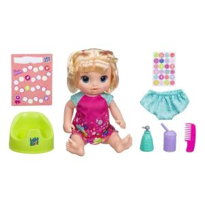 Boneca Baby Alive - Primeiro Peniquinho - Loira - E0609 - Hasbro
