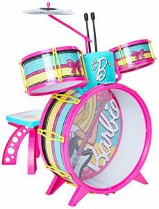 Bateria Infantil Fabulosa Barbie Rosa | R$175