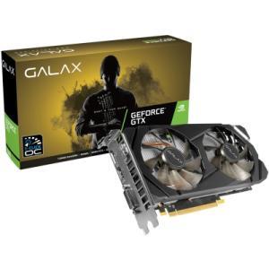 PLACA DE VÍDEO GALAX GEFORCE GTX 1660 6GB (1-CLICK OC) 60SRH7DSY91C GDDR5 PCI-EXP