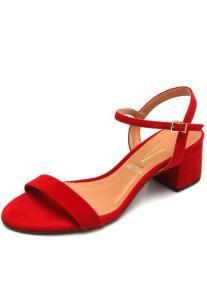 Sandália Vizzano Tira Vermelha | R$65