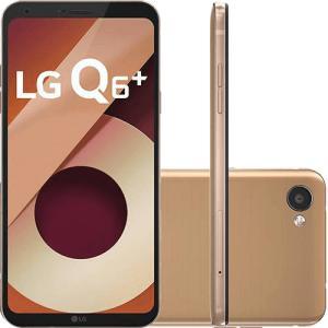 "Smartphone LG Q6 Plus Dual Chip Android 7.0 Tela 5.5"" Full Hd+ Snapdragon MSM8940 64GB 4G Câmera 13MP - Rose Gold por R$ 719"