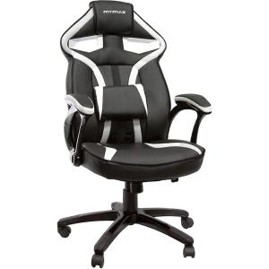 Cadeira Gamer Mymax Mx1 Giratória Preto/Branco | R$449