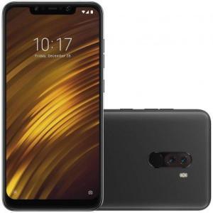 Smartphone Xiaomi Pocophone F1 64GB Versão Global Desbloqueado Preto | R$1.566