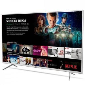 "Smart TV LED 55"" Semp TCL 55K1US Ultra HD 4K HDR 3 HDMI 2 USB - R$ 2379"