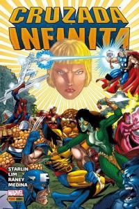 HQ | Cruzada Infinita, por Jim Starlin, Tom Raney e Ron Lim - R$75