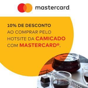 10% de desconto no site da Camicado em compras com Mastercard
