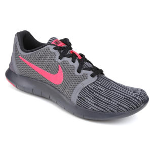 Tênis Nike Flex Contact 2 Masculino - Cinza e Rosa - R$139