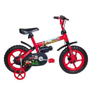 Bicicleta Infantil Aro 12 Verden Bikes 10444 Vermelha e Preta por R$ 126