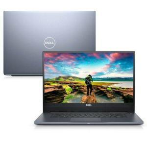 "Notebook Dell Inspiron Ultrafino i15-7572-M10C 8ª Ger. Intel Core i5 8GB 1TB Placa Vídeo 15.6"" W10"