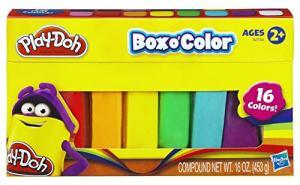 Refil de Massinha Play-Doh 16 Cores Hasbro R$18