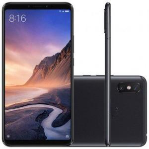Smartphone Xiaomi Mi Max 3 64GB Versão Global Desbloqueado Preto por R$ 1299
