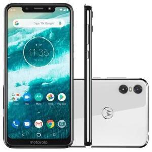 Smartphone Motorola One, 64GB, 13MP, Tela 5.9´, Branco