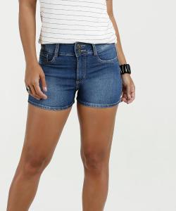 Short Feminino Jeans Cintura Média Marisa | R$28