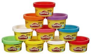 Massinha Play-Doh 10 Mini Potes Hasbro - R$25,42
