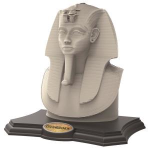 Puzzle Escultura 3D Grow Tutankhamon - 160 Peças | R$37