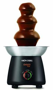 Fonte de Chocolate Choco Fest 127V, Mondial NFN-01, Preto/Prata, Mondial, NFN-01   R$140