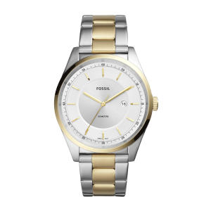 Relógio Fossil Mathis Masculino Prata e Dourado Analógico FS5426/1KN por R$ 337