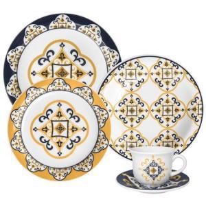 Aparelho De Jantar e Chá 20 Peças JM38-6779 Oxford - R$169