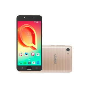 "Smartphone Alcatel A5 Max, Dourado, 5085N, Tela de 5.2"", 32GB, 13MP"