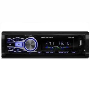 MP3 Player Automotivo Shutt Montana 1 Din 3.5 Polegadas USB SD Auxiliar P2 Rádio FM - R$53