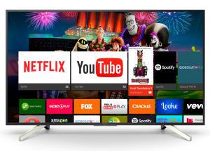 "Smart TV Android LED 65"" Sony KD-65X755F Ultra HD 4K 4 HDMI 3 USB 60Hz - R$ 4749"