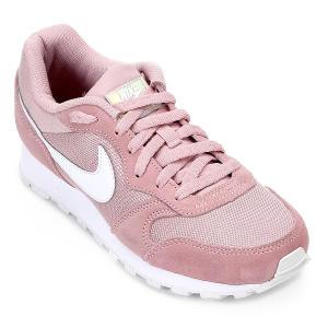 Tênis Nike Md Runner 2 Feminino - Rosa e Branco por R$ 153