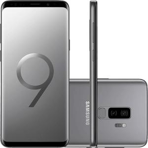 "Smartphone Samsung Galaxy S9+ Tela 6.2"" Octa-Core 2.8GHz 128GB 4G Câmera 12MP Dual Cam - Cinza - R$ 2727"