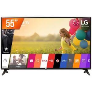 Smart TV LED 55'' Ultra HD 4K LG 55UK631C HDMI USB Wi-Fi Conversor Digital Integrado por R$ 2489