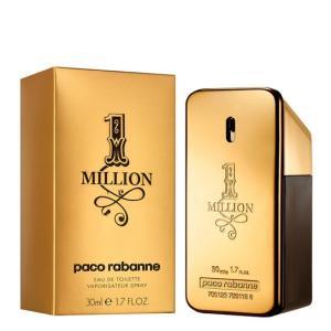 Perfume One Million Eau de Toilette Masculino 30ml - R$170