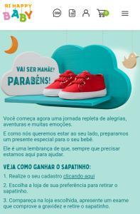 GANHE UM SAPATINHO NAS LOJAS RI HAPPY BABY  (RIO DE JANEIRO)