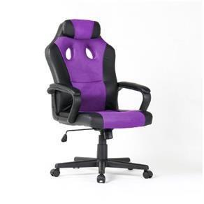 Cadeira Gamer com Rodas de Nylon Anti-Risco Roxa - 2325-PU