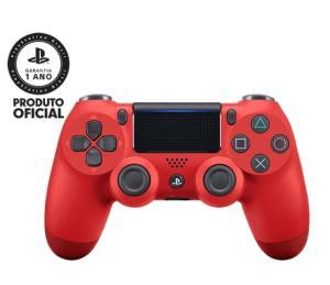 [Cartão Americanas] Controle sem Fio PS4 Dualshock Vermelho